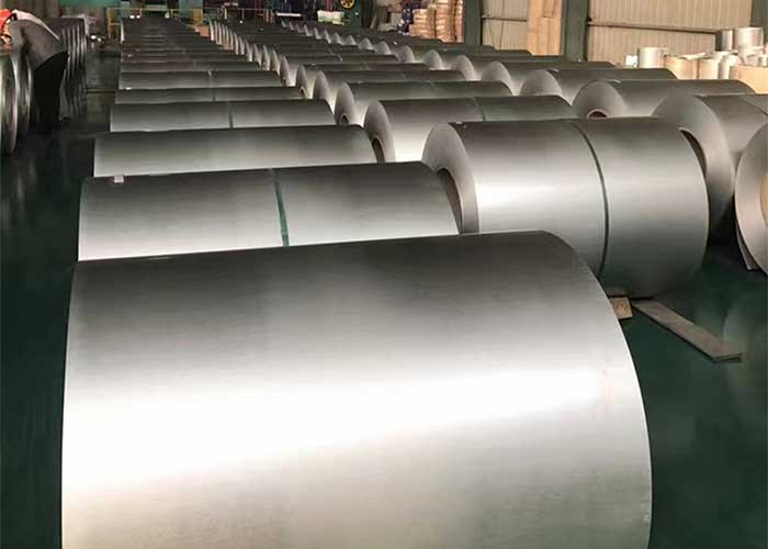Bobina de acero aluminizado