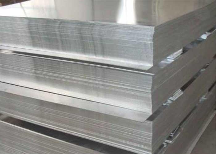 Chapa de acero aluminizado