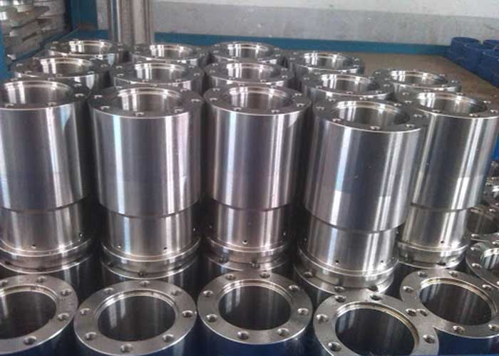 Estructura de acero de mecanizado de precisión