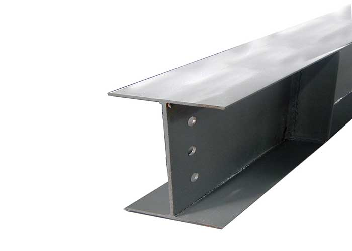 Estrutura de aço soldada